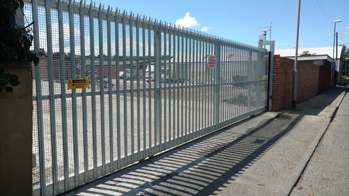 Commercial Electric Amp Automated Sliding Gates Commercial